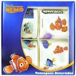 Kit com 40 Tatuagens Divertidas Procurando Nemo Disney
