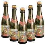 Kit com 5 Cervejas Bierbaum Bière de Garde Garrafa 370ml