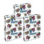 Kit com 5 Lenços de Papel Kleenex Classic Misto S/P C/50