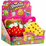 Kit com 6 Pelúcias Shopkins Dtc