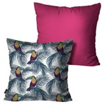 Kit com 2 Almofadas Decorativas Pink Tucano