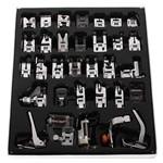 Kit com 32 Calcadores para Máquinas Doméstica
