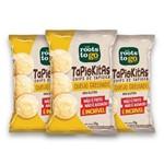 Kit com 3 Chips de Tapioca TAPIOKITAS Sabor Queijo Grelhado 35g