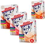 Kit com 3 Diet Way Shake + 1 Un de Mamão Papaya - 420 Gramas - Midway