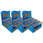 Kit com 3 Exceed ProteinBar Crunch Banana Displays 12x30g