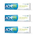 Kit com 3 Gel Secativo Acnezil Antiacne Incolor 10g Cada - Cimed