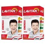 Kit com 2 Lavitan Energia C/60 Comprimidos