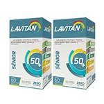 Kit com 2 Lavitan Sênior C/60 Comprimidos