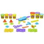 Kit com 3 Massinha Play Doh Playset Lançamento B6768 Hasbro