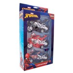 Kit com 3 Motos Spider- Man