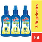 Kit com 3 Repelex Family Care Citronela Repelente Spr 100ml