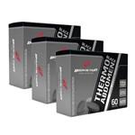 Kit com 3 Thermo Abdomen Black -Body Action (180 Compr Total)