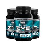 Kit com 3 ZMC Carbon Cálcio, Zinco e Magnésio 120caps Unilife