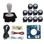 Kit Comando Aegir Magnético + 10 Botoes Corpo Preto + Placa Zero Delay