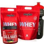 Kit IntegralMedica 2x Whey Protein 907g + Colageno 300g