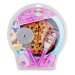 Kit Comidinha Pizza com Velcro - Princesas Disney - Toyng