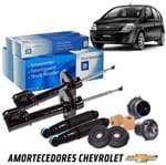 Kit Completo Amortecedor e Batentes 1.4 1.8 Kit373 Meriva