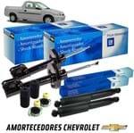 Kit Completo Amortecedores Dianteiros e Traseiros Pressurizados a Gas Pikcup Corsa Kit453 Pickup