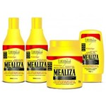 Kit Completo Profissional Maizena Capilar Mealiza Forever Liss (Máscara 1kg)