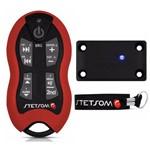 Kit Controle de Longa Distância Alcance Control Stetsom SX2 - Vermelho