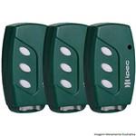 Kit 3 Controles Remoto Tx Deco 433mhz Ipec Verde