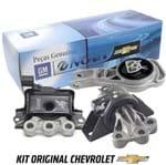 Kit Coxim de Motor Câmbio Manual Cobalt 2012 em Diante