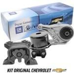 Kit 3 Coxim do Motor Esquerdo Direito e Dianteiro Kit536 Corsa Novo /montana