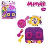 Kit Cozinha Infantil com 5 Pecas Minnie na Cartela
