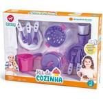 Kit Cozinha Infantil Rosa Calesita