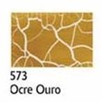 Kit Craquelex Color 2 Frascos 37 Ml Cada Acrilex Ocre Ouro 573