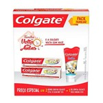 Kit Creme Dental Colgate Total 12 Clean Mint 90g + Gel Dental Minions