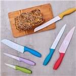 Kit de 6 Facas para Cozinha Colors