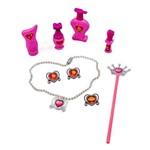 Kit de Beleza Porta Joias Princesas Toyng
