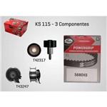 Kit de Correia Dentada Gates para Audi A1/ Audi A3/ Fox/ Gol/ Golf/ Saveiro/ Up/ Voyage - Ks115
