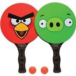 Kit de Frescobol Angry Birds - DTC