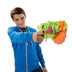 Kit de Lançadores - Nerf - Zombiestrike e N-strike - Hasbro