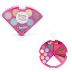 Kit de Maquiagem Infantil Pizzinha Turma da Lu - Rosa - Lt611