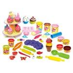 Kit de Massas de Modelar - Super Massa - Cupcake + Sorvetinho + Melecas + Mini Cupcakes - Estrela