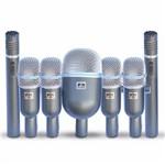 Kit de Microfones para Bateria Arcano com Fio 7 Mics 7osme-d