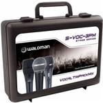Kit de Microfones Stage S-Voc-3pm Waldman