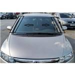 Kit de Molduras do para Brisa do Honda Civic 2007 a 2012