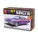 Kit de Montar Amt 1:25 Chevrolet Impala Ss 1967