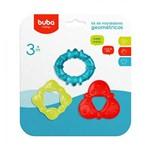 Kit de Mordedores com Água Geométricos - Buba Baby