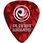 Kit de Palhetas para Guitarra 10 Peças Vermelho 1CRP2-10 - Planet Waves