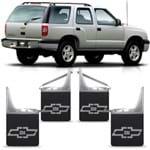 Kit de Parabarros (Lameiras) Blazer 1995 a 2011 - com Logo GM