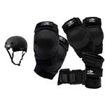Kit de Proteção Completo com Capacete Mormaii para Patins e Skate - Mormaii