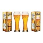 Kit de 2 Taças Copo Cerveja Bohemia Weiss 670 Ml
