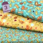 Kit de Tecido Cats (30x70) 3 Estampas