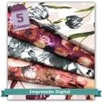 Kit de Tecido Jardim Digital (30x70) 5 Estampas