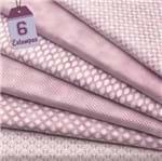 Kit de Tecido Mini Elementos Lilac (30x70) 6 Estampas